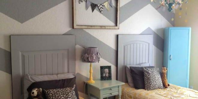 kreative deko ideen schlafzimmer und farbgestaltung in wei und grau freshouse. Black Bedroom Furniture Sets. Home Design Ideas