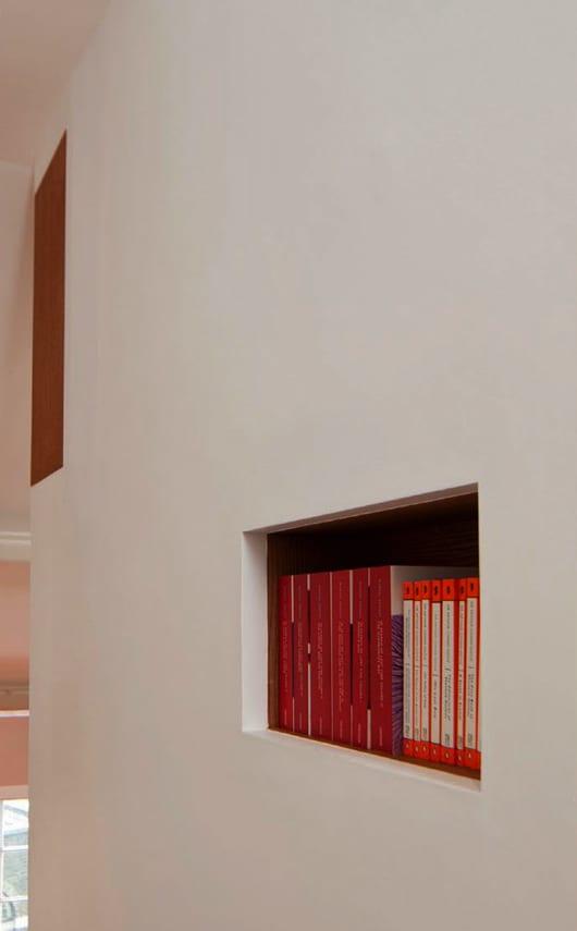 interessante wandgestaltung und idee für modernes Interior Design