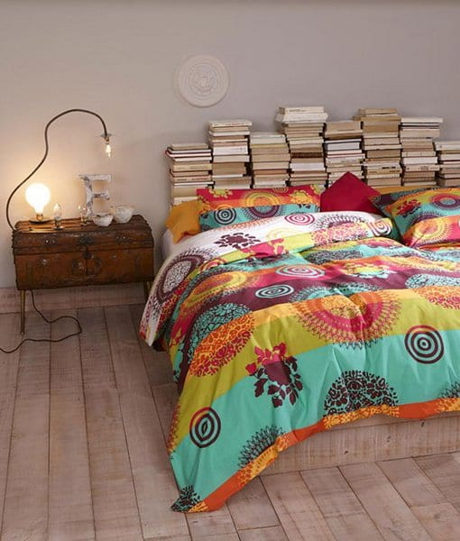 coolde deko ideen schlafzimmer mit holzboden und rustikalen schlafzimmermöbel