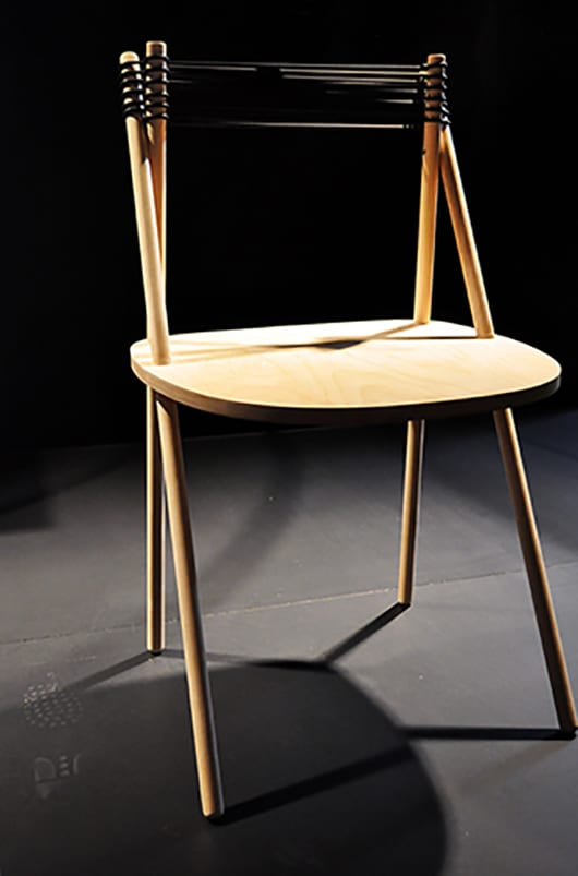 inspiration für selbstgebauten Holzstuhl