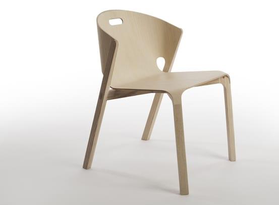 moderner esszimmerstuhl holz mit modernem stuhl-design von bejamin hubert
