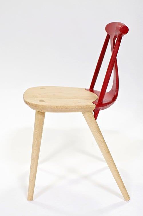 interessante holzstuhle mit ergonomischer rückenlehne aus aluminium_Corliss Stuhl