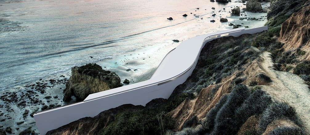 luxus residenz am meer_inspiration für minimalistische architektur und organische gebäuden