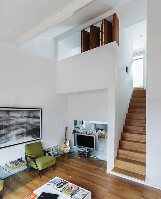 kleine wohnung einrichtungsideen mit kleinem wohnzimmer mit wandöffnung zur küche
