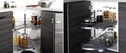 moderner eck-küchenschrank zum sparen vom platz kleiner küchen