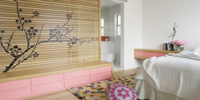 ... für dezente raumtrennug im schlafzimmer mit badezimmer - fresHouse