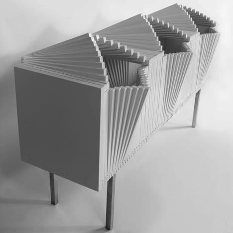 birkenholz sideboard modell in weiß für moderne Interiors