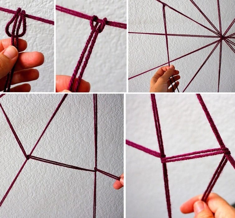 Diy spinnengewebe als coole halloween deko idee freshouse for Coole deko selber machen
