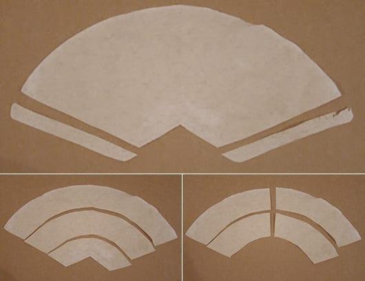 basteln mit kaffeefiltern als kreative bastelidee für DIY-Dekoration mit Papier-rosen