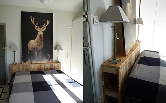 diy-bett-aus-holz-als-kreative-wohnidee-für-schlafzimmer-dekoration-und-diy-sideboard-kopfteil ...