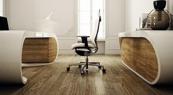 Büromöbel design weiß  einrichtungsidee für büroräume mit büromöbel google in weiß und ...