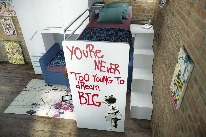 Kleines Kinderzimmer mit Hoch- oder Etagenbett einrichten - fresHouse