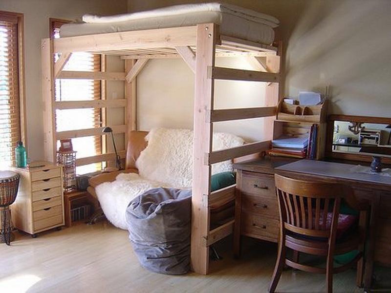 kleines kinderzimmer mit hochbett einrichten