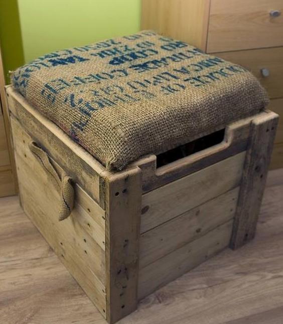 mit paletten bauen als coole idee für selbstgebaute möbel