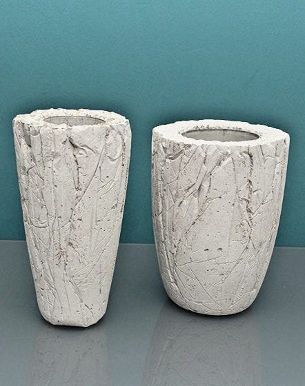 coole bastelidee f r diy vase aus beton freshouse. Black Bedroom Furniture Sets. Home Design Ideas