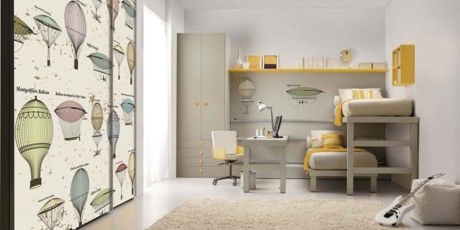 Moderne Einrichtung Kleines Kinderzimmers Mit Etagenbett Von Tumidei Spa    FresHouse