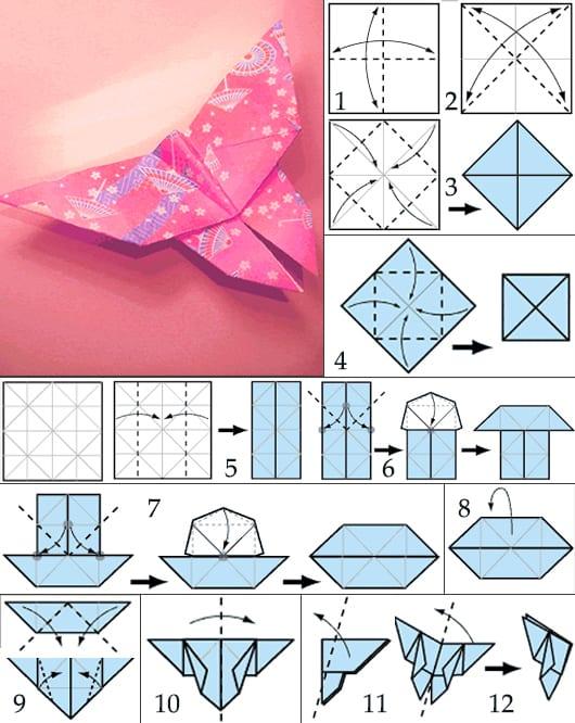 origami dekoration selbs basteln