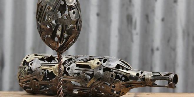 Schlüssel – eine kreative Dekoidee