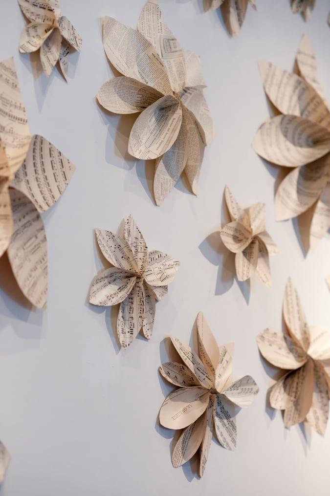 Wanddekoration Selber Machen Aus Papier Und Idee Fr
