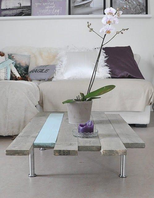 einrichtungstipps wohnzimmer mit möbel aus paletten