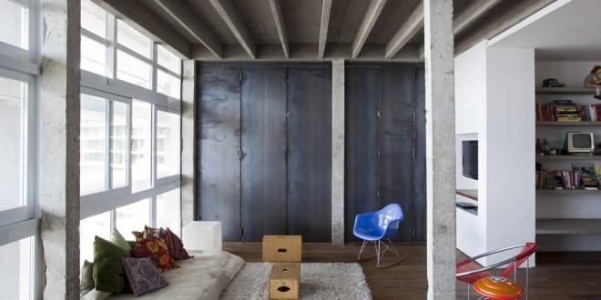 Copan Apartment – eine moderne Loft Wohnung in Brasillien
