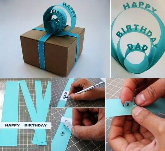 geschenke kreativ verpacken zum geburtstag