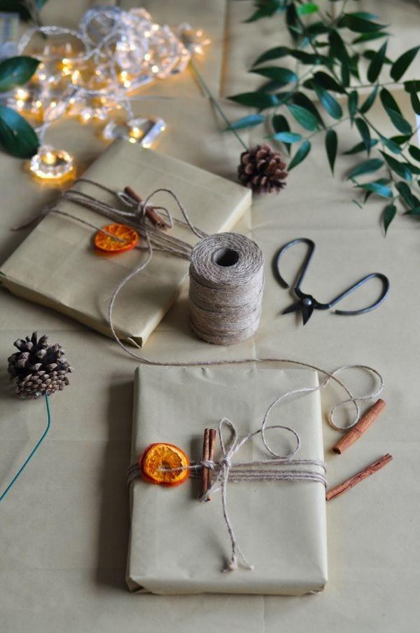 einfache und schnele geschenkverpackung selber machen