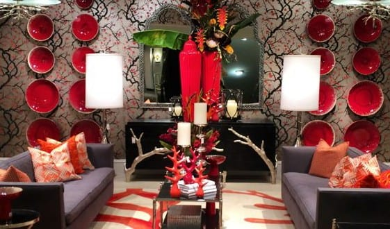 design : dekoideen wohnzimmer rot ~ inspirierende bilder von ... - Dekoideen Wohnzimmer Rot