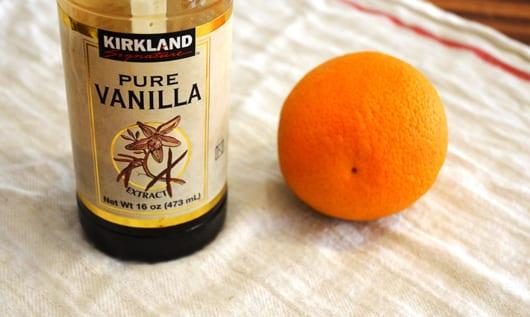 DIY Lufterfrischer und raumspray selber machen mit vanille duft