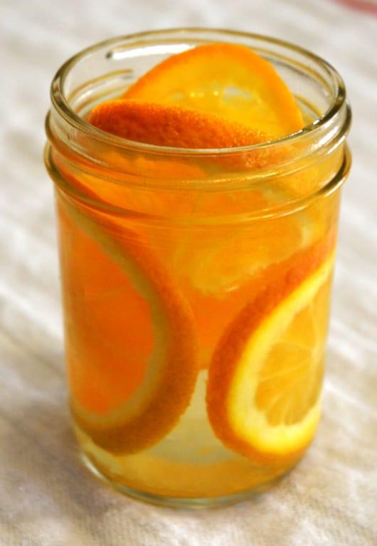 vanille lufterfrischer mit orangen hausgemacht