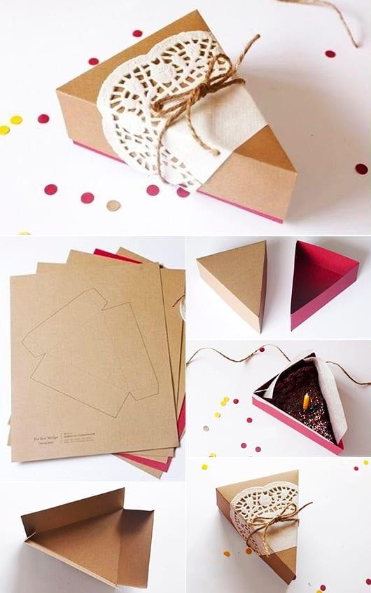 Faltbox Geschenkverpackung selber machen