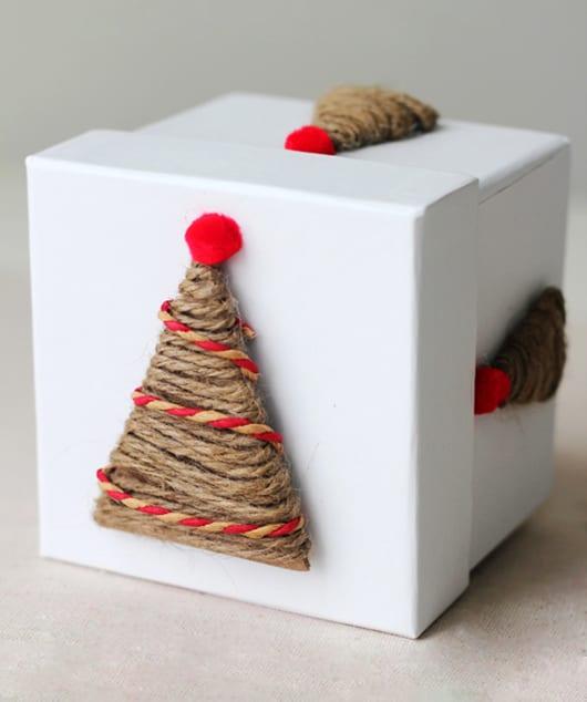 cooles verpackungsdesign für weihnachtsgeschenke