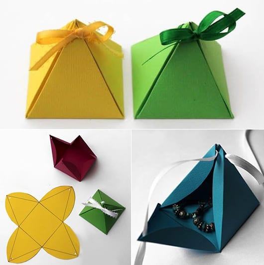 geschenkverpackung selber machen für schmuck