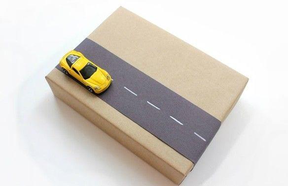 geschenk kreativ verpacken für kinder