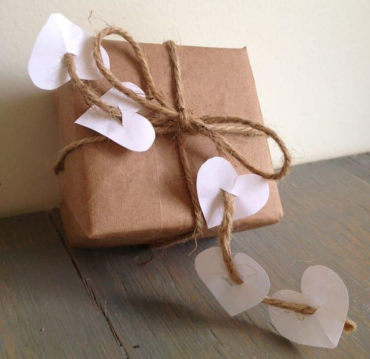 geschenke kreativ verpacken für den liebespartner