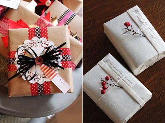 geschenke schön und richtig verpacken