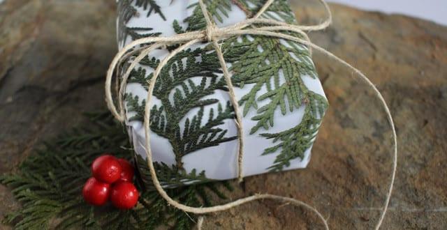 geschenkverpackung selber machen zum weihnachten freshouse. Black Bedroom Furniture Sets. Home Design Ideas