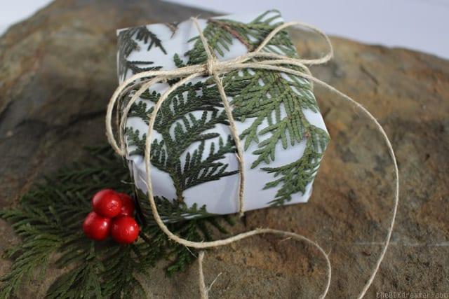 geschenke originell verpacken zum weihnachten