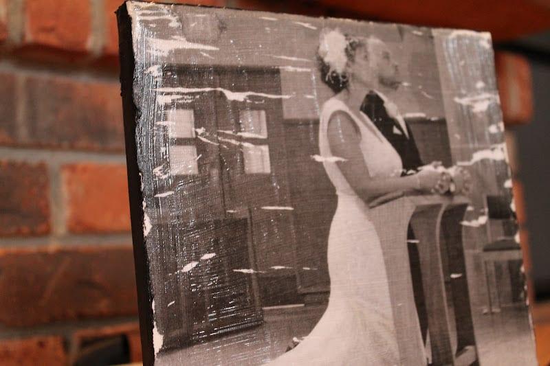 Fotobilder aus Holz basteln
