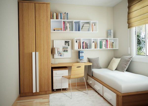 Kleines Arbeitszimmer das kleine home office modern und gemütlich einrichten freshouse