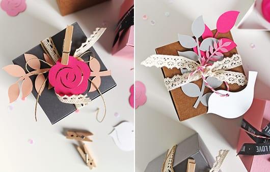 geschenkbox verpackung kreativ gestalten
