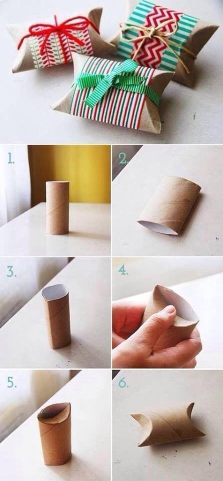 geschenkverpackung basteln aus pappe