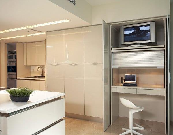 das kleine home office modern und gem tlich einrichten freshouse. Black Bedroom Furniture Sets. Home Design Ideas