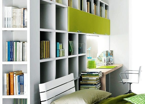 das kleine home office modern und gem tlich einrichten. Black Bedroom Furniture Sets. Home Design Ideas
