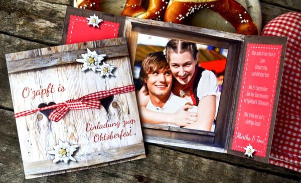 coole geburtstagseinladungen und geburtstagskarten mit fotos selber gestalten