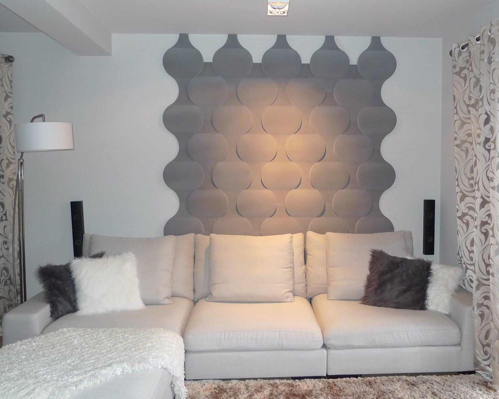 Wohnzimmer Wandgestaltung Grau ~ Wohndesign Ideen