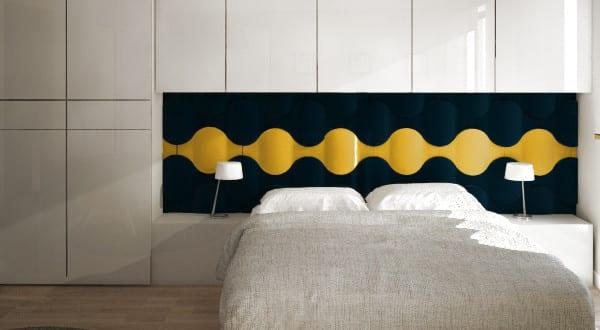 kreative wohnideen f r moderne wandgestaltung und farbgestaltung schlafzimmer mit 3d. Black Bedroom Furniture Sets. Home Design Ideas