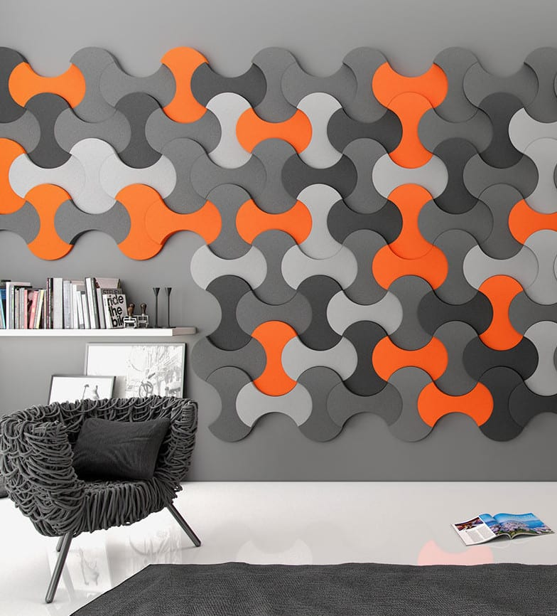 kreative wohnideen f r moderne wandgestaltung wohnzimmer und farbgestaltung w nde in orange und. Black Bedroom Furniture Sets. Home Design Ideas