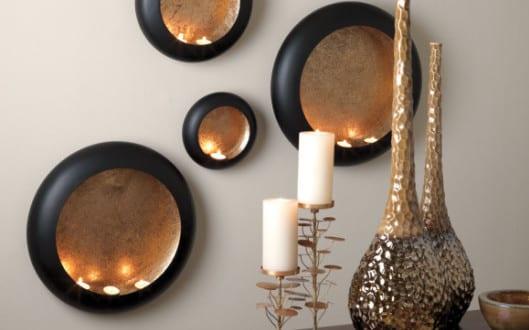 Dekoideen Wohnzimmer – Wände kreativ gestalten