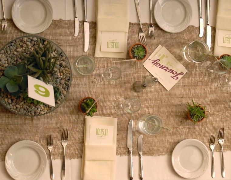 Tisch Decken Mit Sackleinen Freshouse